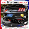 Fits Ford Mustang Coupe 2015-2020 GT500 Style Gloss Black Trunk Spoiler Wing