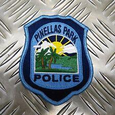 US Pinellas Park Police Department Florida Shoulder Patch / Badge PB19