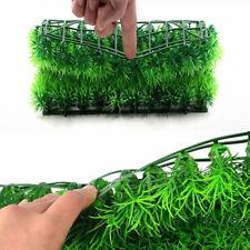 Green Plastic Water Grass Plant Lawn Fish Tank Landscape Aquarium Home Decor New
