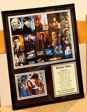 Dr. Who The Doctors Framed 1963-2013, Size 11x14
