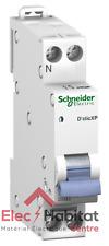 Disjoncteur unipolaire+neutre déclic 32A Schneider 20729