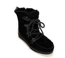 Sporto® Cream, Lace-Up Cold Weather Boot, Black 7.5M