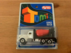 Tomica American Cement Truck on Blue Card Made For G.J Coles Melbourne Australia