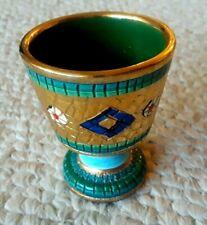 Ceramiche D'Arte Sambuco Mario & C.SNC Made in Italy Mosaic Mini Goblet Cup