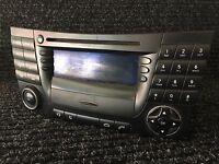 Mercedes-Benz W211  SAT Nav Satnav Radio  BE7036 A2118202097