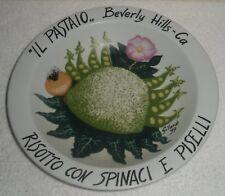 Piero GILARDI Limited Edition IL PASTAIO BOWL Beverly Hills Buon Ricordo America