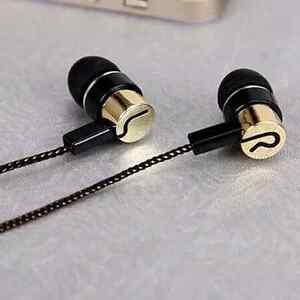Sports 3.5mm In-Ear Earphone Stereo Headphones Super Bass Headset Metal Earbuds