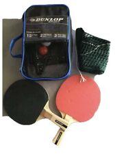 DUNLOP Sport Table Tennis set. 2 Bats, net and posts & balls.