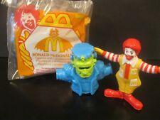 """Ronald McDonald Halloween Figurine with 2 Accessories""  NIP  1995"