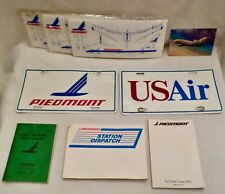Lot: Nine Collectible Items from Piedmont AirLine Co.