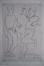 PABLO PICASSO Commes les Jacinthes Grace et mouvement 1943 signiert i.Dr Ballett