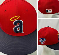 New Era Anaheim Angels Hat Cap 59fifty Coopertown Collection 7 3/8