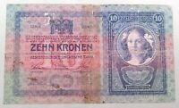 AUSTRIA 10 KRONEN 1904 #alb52 525
