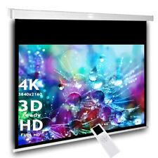 Avlux Heimkino Projektor Beamer Motor Leinwand 180 x 101 cm 16:9 HDTV 3D inkl FB