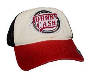 JOHNNY CASH TRUCKET HAT FEATURING JOHNNY CASH LOGO