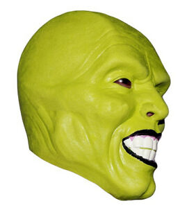 Deluxe THE Mask Great Latex Overhead Role play Cosplay Fancy Doll Costume New