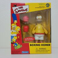 Playmates The Simpsons BOXING HOMER Figure World of Springfield ToyFare