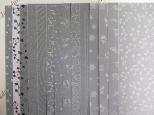 Printed Vellum Mix 28 A4 Sheets (2 of each design) Snowflakes Butterflies AM515