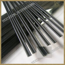 """100pcs Plastic Black 7"""" (18cm)Twist Ties - Double Wire Heavy Duty"""