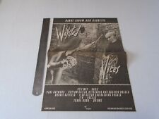 WAYSTED - VICES - CUTTING ADVERT CLIPPING - 1983