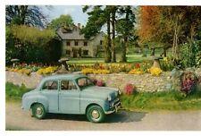 Standard Ten Saloon Late 1950s UK Market Factory Issued Sales Postcard