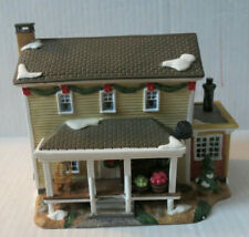 2007 Country House ~ Country Charm Collection ~ Lighted Porcelain House (L-D)