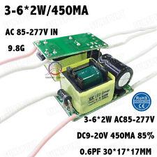 5PCS AC85-277V 10W LED Driver 3-6x2W 430mA DC9-20V Constant Current 3-6 PCS 2W