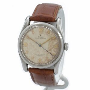 VINTAGE ROLEX OYSTER PERPETUAL CHRONOMETER 5018 34MM W/ PAPERS - NR #10183