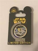 DLR 25th ANNIVERSARY STAR TOURS ATTRACTION LE 1000 DISNEY SPINNER PIN 88225