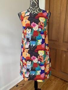 Gorman x Monika Forsberg Sundays Best 8 Shift Dress Excellent Condition