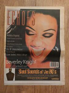 ECHOES MAGAZINE 30 SEPT 1995 BEVERLEY KNIGHT BOBBY DIGITAL DJ VADIM DOVE SHACK
