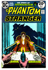 THE PHANTOM STRANGER #27 in NM- a 1973 DC horror comic Spawn of FRANKENSTEIN