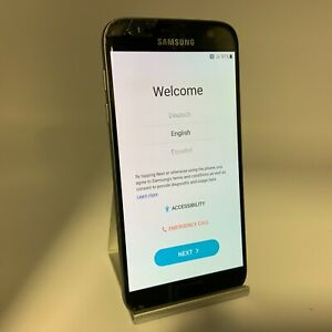 Samsung Galaxy S7 32GB Black Verizon Unlocked Screen Cracked/Shadow Paint Lift