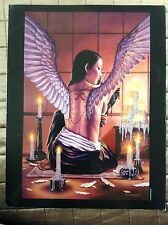 Dorian Cleavenger Print Gothic Fantasy Art Nude Tattoo Wings Erotic Occult Pinup