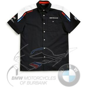 Motorsport Short-Sleeved Shirt Men's Genuine BMW Motorrad Motorcycle 2020 STYLE