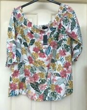 Dorothy Perkins Blouse Cotton Floral Tops & Shirts for Women