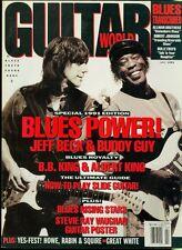 1991 Guitar World Magazine: Blues Power/Jeff Beck & Buddy Guy/B.B. & Albert King