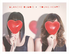 blanche dubois -  young heart  - New Digipak cd Not Sealed