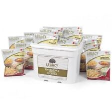 Legacy Essential Premium 120 Serving Emergency Food Entree Bucket-GRAB AND GO