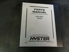 Hyster W25-40ZC (B454) Forklift Parts Manual