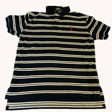 Polo by Ralph Lauren Mens Large Dark Blue Large, Summer Ready and Durable