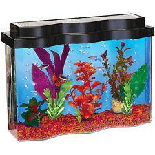 Hawkeye AquaWave 2.5gal Aquarium with Hood, UGF & Pump