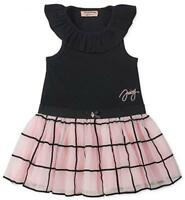 Juicy Couture Infant Girls Dress W/Diaper Cover Size 12M 18M 24M $60