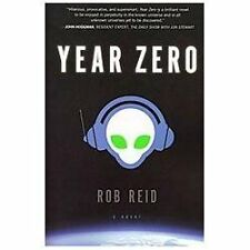 Year Zero by Rob Reid (2012, Hardcover)   Great Used Condition