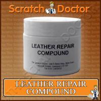 Leather Repair Filler Compound / Restoration Restore Cracks Holes  Scratches etc