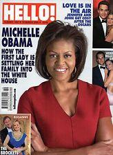 Hello!.Michelle Obama,Linda Barker,Gisele Bundchen & Tom Brady,Samantha Janus,ii