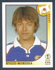 PANINI KOREA/JAPAN WORLD CUP 2002- #534-JAPAN-RYUZO MORIOKA