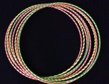 Color Neon Green GLOWS UNDER BLACK LIGHT, HULA HOOP Dance Manipulation Exercise