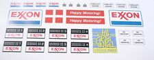 Custom stickers for LEGO 6375 6375-2 Exxon Gas Service Station 7993 6378
