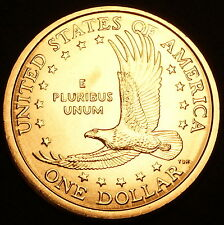 2000 P Sacagawea Dollar ~ With Eagle in Flight Reverse ~ BU from U.S. Mint Roll